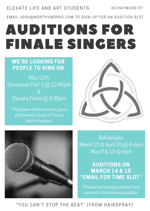Elevate Finale Auditions